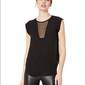 Rebecca Taylor | Charlie silk sleeveless blouse